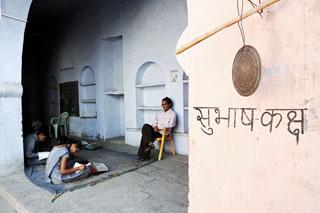 Instants partagés avec les enfants Indiens