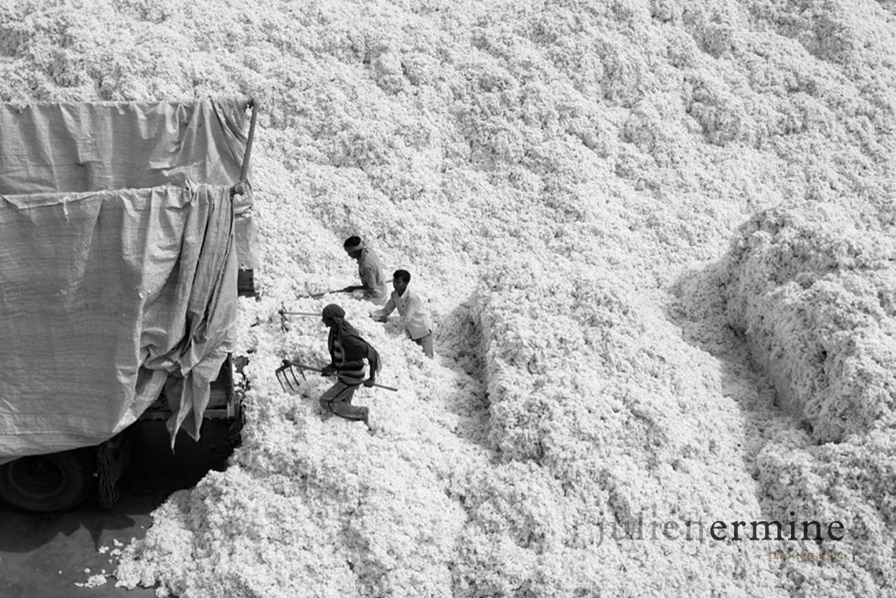 Usine de coton, Bhuj, Inde